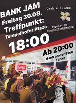 Am 30. August 2019 geht der legendäre Berliner Bank Jam in die nächste Runde, bei dem es Einkaufsgutscheine vom kunstform BMX Shop zu gewinnen gibt.