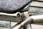 integrierte Sattelklemme am Federal Bikes Lacey DLX BMX-Rahmen