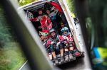 Fahrershuttle beim iXS German Downhill Cup 2016 in Ilmenau