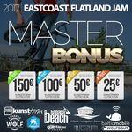 Beim Eastcoast Flatland Jam auf Usedom gibt es in der Masterklasse Einkaufsgutscheine vom kunstform BMX Shop zu gewinnen