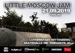 BOOM! Am 21.9.2019 findet in der Skatehalle WB zum 11. Mal der Little Moscow Jam statt. Hier erfährst du mehr zu der Sause in der Lutherstadt Wittenberg.