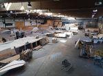 Umbauarbeiten in der Skatehalle Innsbruck