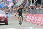 Happy birthday, Mikel! Mikel Nieve (Mitchelton-Scott) gewinnt die 20. Etappe des 101. Giro d