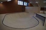 Der Bowl in der Skatehalle Oldenburg