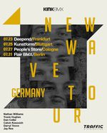 Das Kink-Team kommt Ende Juli nach Deutschland. Wo und wann du die Jungs treffen kannst, verrät dieser Flyer