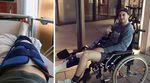 Miguel Franzem träumte davon, einmal bei der Simple Session in Estland mitzufahren –und als es endlich soweit war, zerstörte er sich im Training das Knie.
