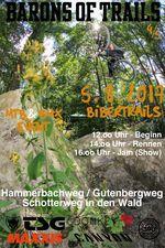 Der vierte Lauf der Barons of Trails Tour 2017 findet am 5. August an den Bibertrails in Landshut statt