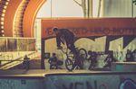 Vor der kunstform Stock Session gab es eine chillige Session im Skatepark am Pragfriedhof zum Warmfahren. Justin Rudd, Nozza