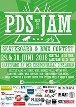BMX- und Skateboardcontest in Dinslaken: Vom 29. bis 30. Juni 2018 ist im Park der Sonne wieder der alljährliche PDS Jam angesagt. Mehr dazu hier.
