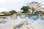 Der Bowl in Tamarindo ist auf einem Schulhof und darf in der Regel nur von Schülern der Schule gefahren werden. Tja, Schüssel ist das natürlich nicht …