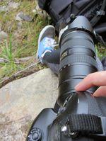 Meine Waffe für heute - eine Nikon D3.