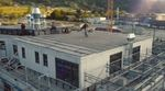 Markus Schwital hat für eine Flatlandsession auf dem Dach des Rohbaus der neuen moun10 Jugendherberge in Garmisch-Partenkirchen vorbeigeschaut.