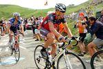 Lance Armstrong nutzte bergauf oft extrem hohe Trittfrequenzen. Foto: Sirotti