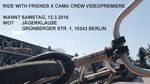 Ride with Friends und die Cama Crew stellen am 12. März 2016 ihr neues Video in der Jägerklause Berlin der Öffentlichkeit vor. Hier erfährst du mehr.