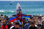Johanne Defay (FRA) has won the 2015 Vans US Open of Surfing.