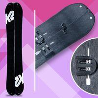 k2 maurauder, splitboard, snowboard