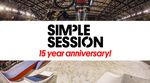 Neben einer neuen Location steht nun auch das Datum für die Simple Session 2015 fest. Wann und wo es diesmal in Tallinn rund geht, erfährst du hier.