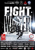"""Vom 15.-16. Februar 2019 geht in Göttingen der """"Fight The Winter""""-Flatlandcontest in die nächste Runde. Weitere Infos dazu findest du hier."""