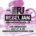 Nach einer fünfjährigen Kreativpause feiert der VANS Rebel Jam vom 27.-28. Juli 2019 auf dem VANS US Open in Huntington Beach sein Comeback.