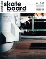 Monster Skateboard Magazine Cover 325