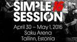 HBD! Die Simple Session feiert vom 30. April bis 1. Mai 2016 ihren 16. Geburtstag. Weitere Infos zu dem prestigeträchtigen Contest in Estland gibt es hier.