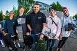 Die Gewinner des Parkcontests der Amateure auf dem Butcher Jam 2018 im Schlachthof Flensburg