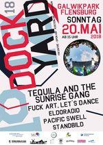 Das Dockyard Musikfestival findet 2018 am 20. Mai ab 15 Uhr im Galwikpark Flensburg, gleich neben dem Schlachthof BMX- und Skatepark, statt