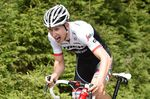 Bauke Mollema kämpft um jedes Sauerstoffmolekül. Der Fahrer von Trek-Segafredo beendete das Zeitfahren als 15. Foto: SIrotti