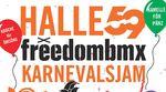 Jih-jih bzw. Kölle Alaaf! Der alljährliche freedombmx X Halle 59 Karnevalsjam steigt in diesem Jahr am 1. März in den AbenteuerHallenKALK.