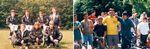 Dieter Schadowski in seinem Element: links Mitte der Achtziger mit dem Rainer
