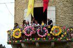 Jedes Dorf feiert und schmückt sich für die Tour de France.(Foto: Sirotti)