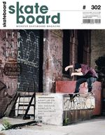 Cover Monster Skateboard Magazine #302