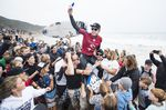 3X World Champion Mick Fanning (AUS) heads into retirement from Championship Tour compeition after placing second in the final of the 2018 Rip Curl Pro Bells Beach at Bells Beach, VIC, Australia.
