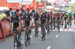 Chris Froome kam unangefochten ins Ziel und bleibt am Abend vor der kritischen 20. Etappe weiterhin im roten Trikot der Gesamtwertung. (Foto: Sirotti)