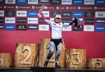 Tracey Hannah gewinnt Worldcup Gesamtwertung in Snowshoe 2019.