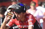 Contador zeigte, das Aufgeben für ihn nicht in Frage kommt: Der Spanier bewies auf der 6. Etappe, dass man mit ihm rechnen muss. (Foto: Sirotti)