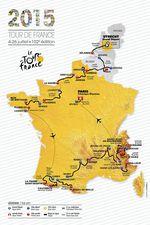 Die Karte der Tour 2015 ist schon außergewöhnlich genug, doch auch am Regelwerk wurde mächtig geschraubt...