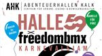 Kölle Alaaf! Der alljährliche freedombmx X Halle 59 Karnevalsjam steigt in diesem Jahr am 21. Februar von 18-22 Uhr in den AbenteuerHallenKALK.