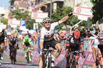 Der Gorilla zeigte bei der zweiten Etappe des Giro d