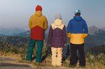 Homeschool, left to right: Nolan jacket - 10,000mm/10,000g - £165 | Motive pants - 10,000mm/10,000g - £140 | Julia jacket - 10,000mm/10,000g - £180 | Katja pants - 10,000mm/10,000g - £140 | Patrol jacket - 20,000mm/20,000g - £220 | Sonic pants - 20,000mm/20,000g - £180