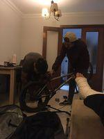 Das war nach Teresas Fußbruch in Málaga; Pitu und Carlos mussten ihre Sachen packen