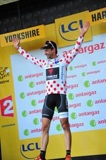 Geniestreich - Jens Voigt erobert auf der ersten Etappe das Bergtrikot der Tour de France 2014.