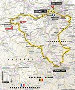 Die erste Etappe der Tour de France 2019 startet in Brüssel und führt durch Flandern und die Wallonie.