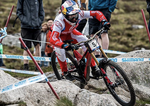 Aaron Gwin stürzt massiv in Fort William 2019