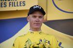 Ein vertrauter Anblick: Chris Froome (Team Sky) in gelb. (Bild: Sirotti)