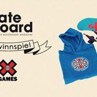 Monster Skateboard Magazine X Games Gewinnspiel