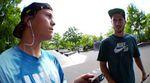 Daniel Tünte und Fernando Laczko lassen für dieses Instagram-Slam-Video ihre Techskills am Hasenheide Plaza in Berlin aufblitzen. DAYUM!