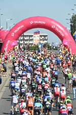 Die Tour de Pologne wurde für die Profis zu einer reinen Hitzeschlacht. (Foto: Sirotti)