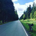 Hervorragend gepflegte Straßen im Böhmerwald.