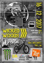 Am 16. Dezember 2017 findet in der Wicked Woods Wuppertal ein BMX un MTB Xmas Jam für Rookies, Experts und Pros statt. Hier erfährst du mehr.